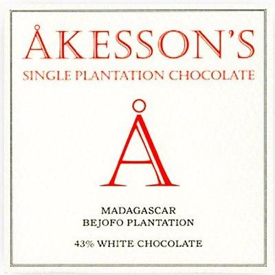 Akesson's Akesson's Weiße Schokolade Madagascar Bejofo Estate 43%