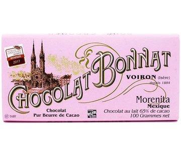 Bonnat Milchschokolade Morenita Mexique 65%