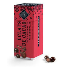Michel Cluizel Kakaobohnensplitter in dunkler Schokolade