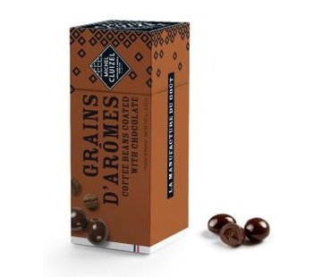 Michel Cluizel Kaffeebohnen in dukler Schokolade 60%