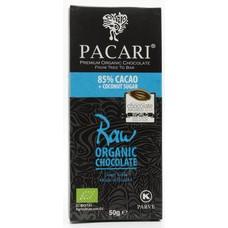 Pacari Dunkle Schokolade 85% Raw
