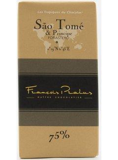 Pralus Dunkle Schokolade 75% Sao Tomé & Principe