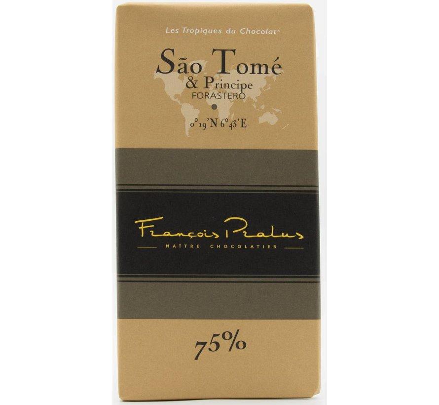 Dunkle Schokolade 75% Sao Tomé & Principe