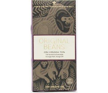 Original Beans Dunkle Schokolade 70% Cru Virunga