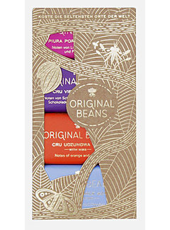 Original Beans Geschenkset Bio-Mini Bar Collection