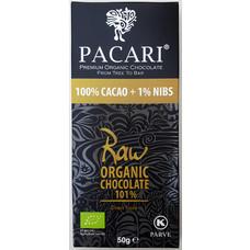 Pacari Dunkle Bio-Schokolade Raw 101%