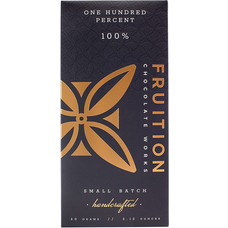 Fruition Chocolate Works Dunkle Schokolade One Hundred Percent 100%
