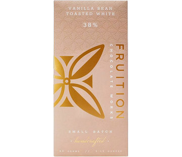 Fruition Chocolate Works Weiße Schokolade Vanilla Bean Toasted White 38%