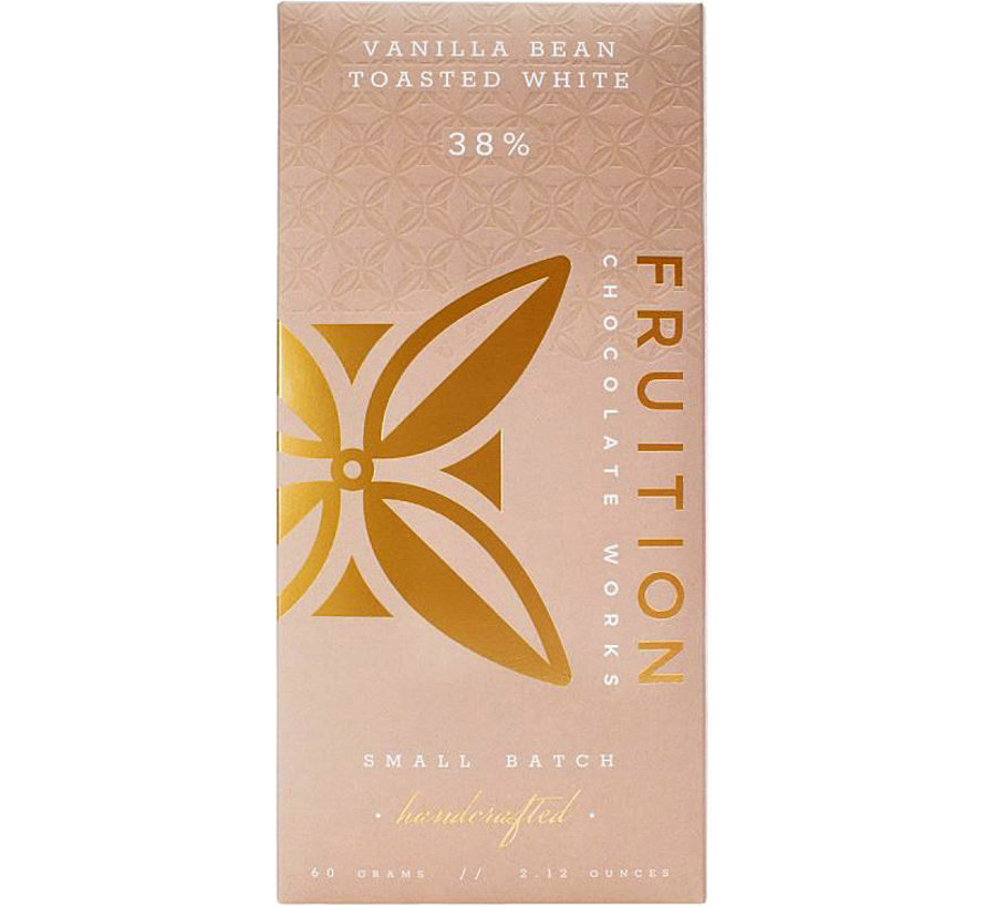 Weiße Schokolade Vanilla Bean Toasted White 38%