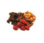 Schokolade mit Nüssen, Kaffee oder Kakaobohnen