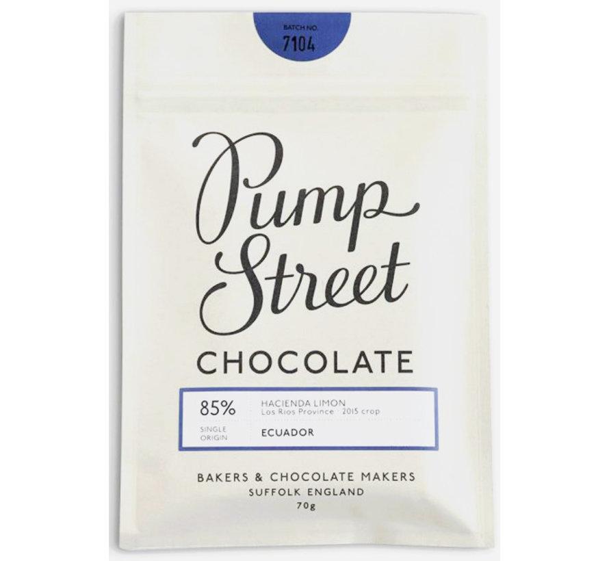 Dunkle Schokolade Hacienda Limon 85%