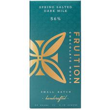 Fruition Chocolate Works Milchschokolade Spring Salted Dark Milk 56%