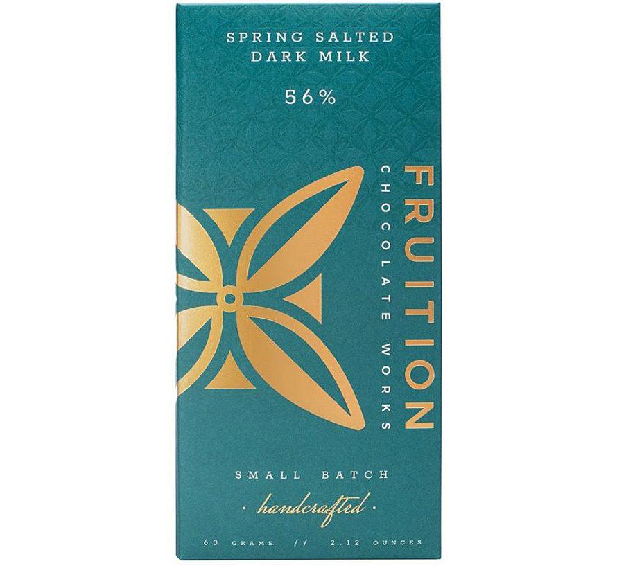 Milchschokolade Spring Salted Dark Milk 56%