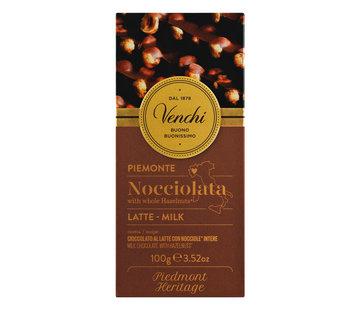 Venchi Milchschokolade mit ganzen Haselnüssen Nocciolato Latte