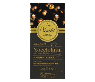 Venchi Dunkle Schokolade mit Haselnüssen Nocciolato Fondente