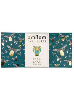 Omnom Chocolate Dunkle Schokolade 100% Peru Limited Edition