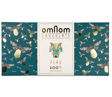 Omnom Chocolate Dunkle Schokolade Peru 100% Limited Edition