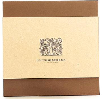 Clement Chococult Dunkle Schokolade Centenario Crudo 70%