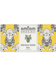 Omnom Chocolate Milchschokolade Dark Milk of Tanzania 65%