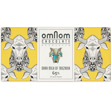 Omnom Chocolate Milchschokolade Dark Milk of Tanzania 65%