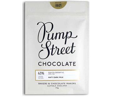 Pump Street Chocolate Milchschokolade Haiti - Dark Milk 63% Limited Edition