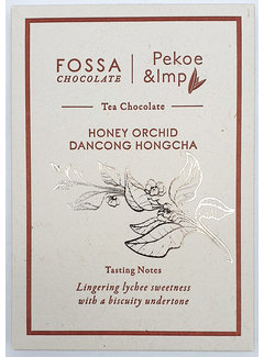 Fossa Chocolates Milchschokolade Honey Orchid Dancong Hongcha