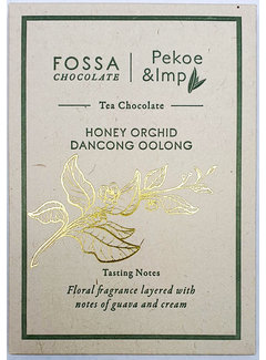 Fossa Chocolates Milchschokolade Honey Orchid Dancong Oolong
