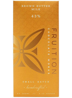 Fruition Chocolate Works Milchschokolade Brown Butter Milk Chocolate