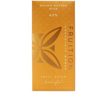 Fruition Chocolate Works Milchschokolade Brown Butter Milk Chocolate