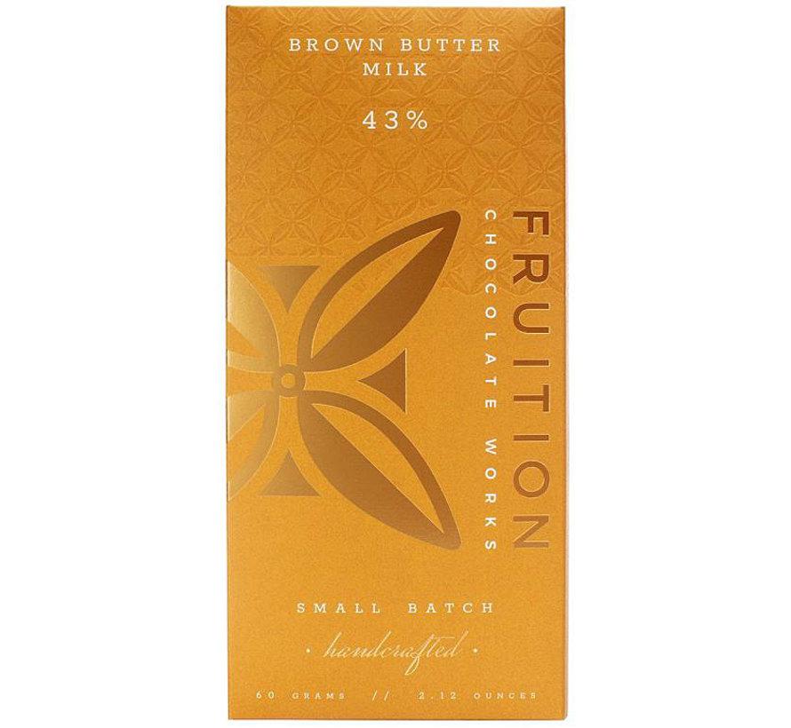 Milchschokolade Brown Butter Milk Chocolate