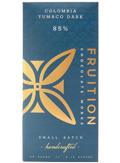 Fruition Chocolate Works Dunkle Schokolade Colombia Tumaco 85%