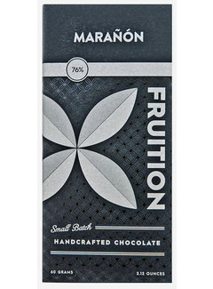 Fruition Chocolate Works Dunkle Schokolade Marañón Canyon Dark 76%