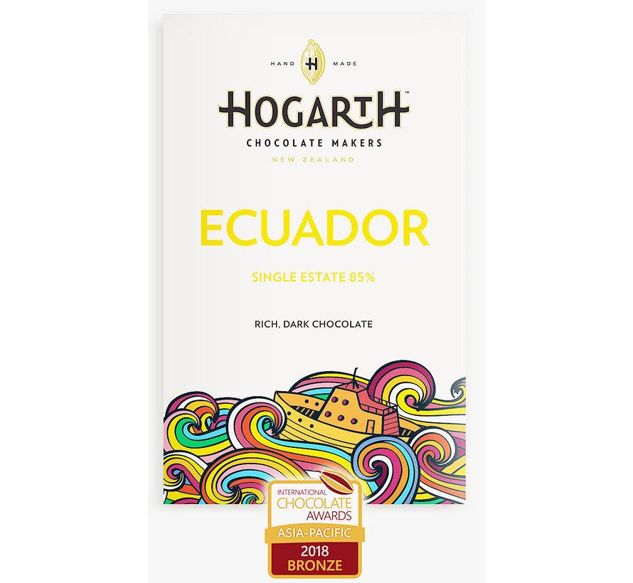 Dunkle Schokolade Hacienda Victoria Ecuador 85%