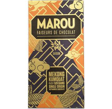 Marou Dunkle Schokolade Mekong Kumquat 68% Tien Giang