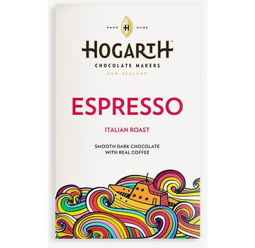 Hogarth Craft Chocolate Dunkle Schokolade Espresso 68%