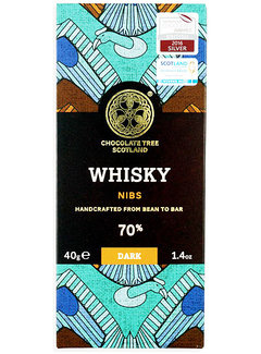 Chocolate Tree Dunkle Schokolade 70% Whisky and Nibs