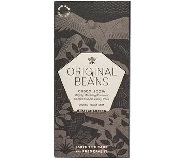 Original Beans Dunkle Bio-Schokolade 100% Cusco Chuncho