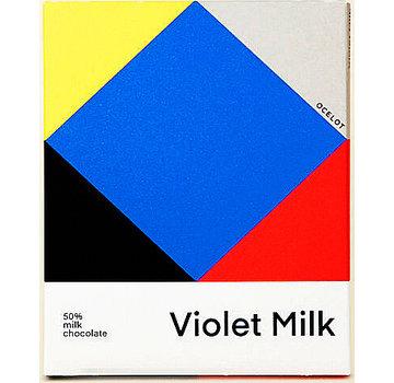 Ocelot Chocolate Milchschokolade Violet Milk 50%
