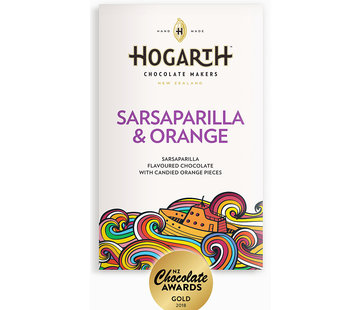 Hogarth Craft Chocolate Dunkle Schokolade Sarsaparilla and Orange 68%
