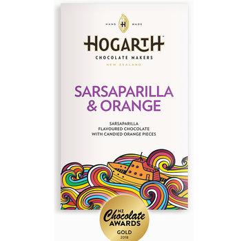 Hogarth Craft Chocolate Dunkle Schokolade Sarsaparilla and Orange 68%