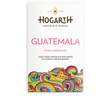 Hogarth Craft Chocolate Dunkle Schokolade Guatemala 64%