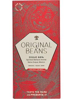 Original Beans Dunkle Schokolade Zoque 88%