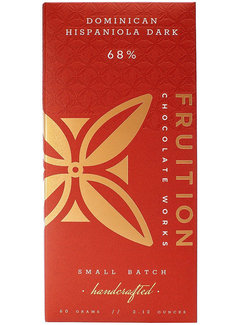 Fruition Chocolate Works Dunkle Schokolade Hispaniola Dark 68%