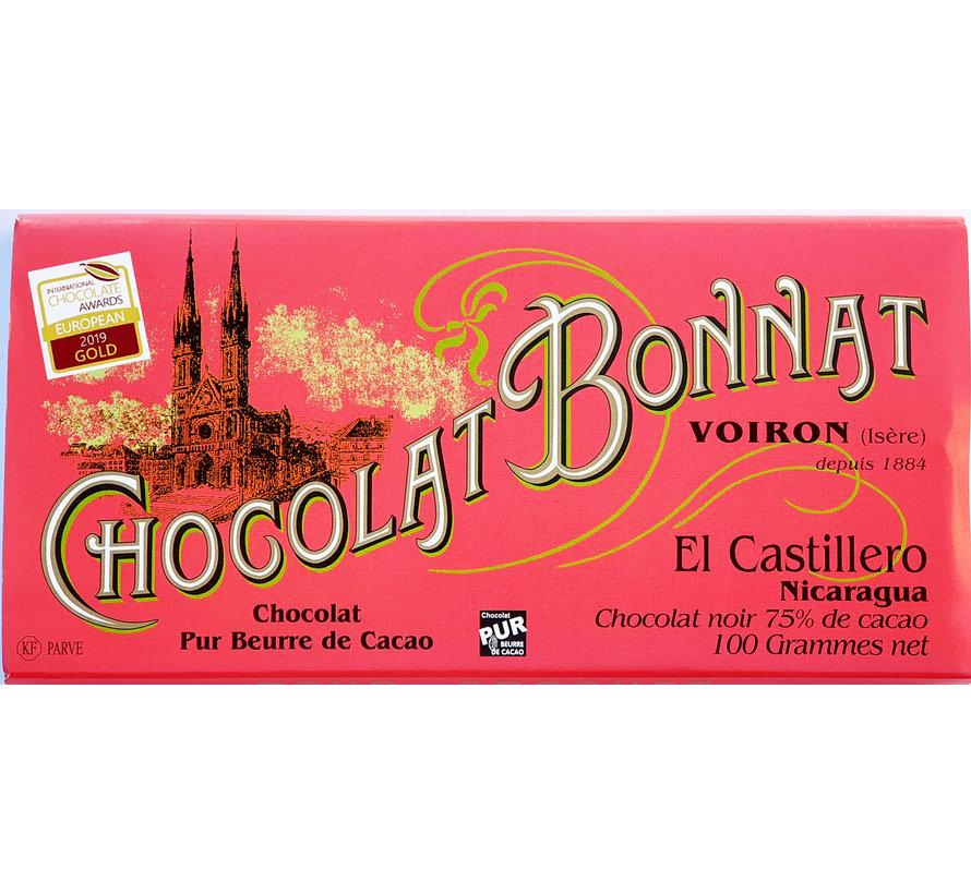 Dunkle Schokolade El Castillero 75%