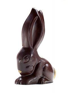 Der mutige Bert - veganer Schokoladenhase in der Geschenkbox