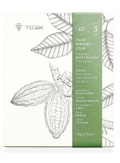 To'ak Dunkle Schokolade Signature 73% – Islay Whisky Cask Aged  3 Years