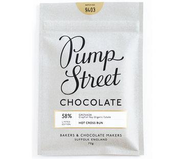 Pump Street Chocolate Dunkle Schokolade Grenada 58% Hot Cross Bun