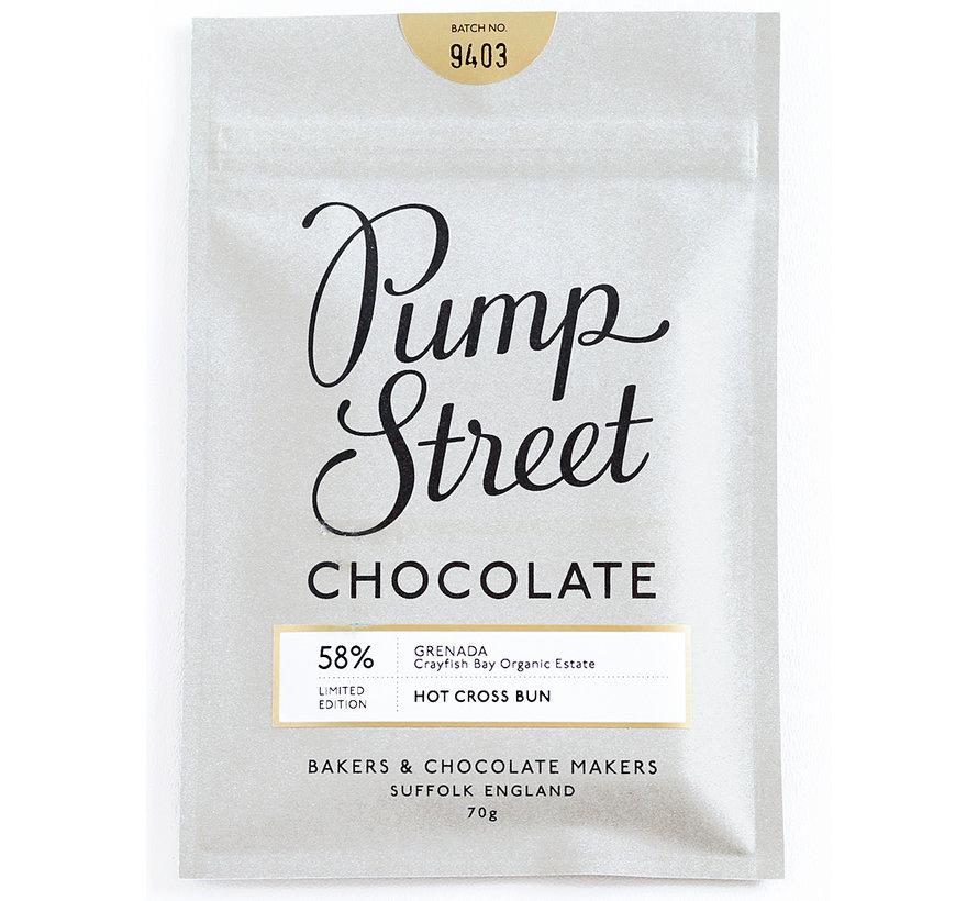 Dunkle Schokolade Grenada 58% Hot Cross Bunn