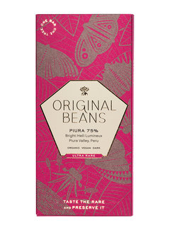 Original Beans Dunkle Bio-Schokolade Piura 75%