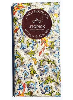 Utopick Dunkle Schokolade 70% Oranges & Almonds